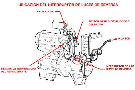 renault koleos 2009 interruptor bulbo switch o sensor de reversa luces de