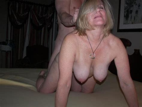 Mature Granny On All Fours