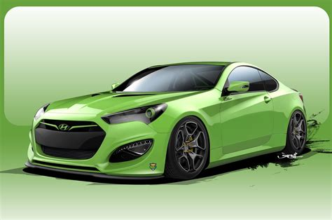 another 500 hp hyundai genesis coupe concept heads to sema