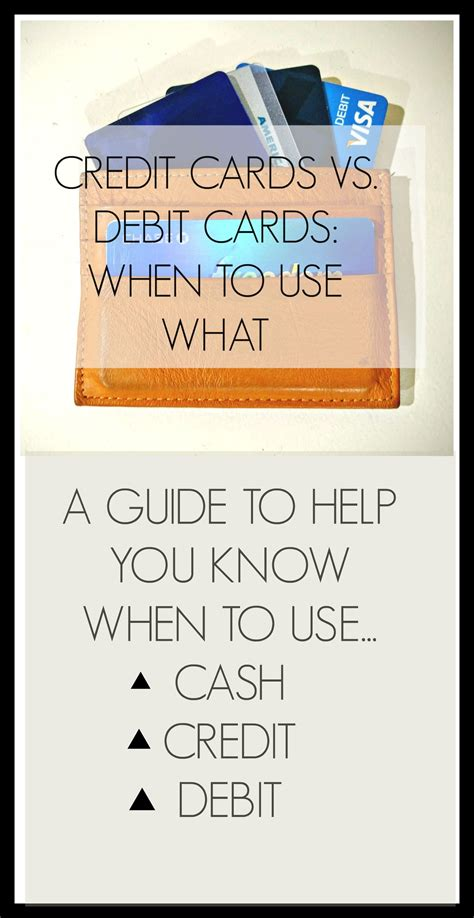 The best way to use a credit card is by using it only when you need it, and by charging only what you know you can comfortably afford to pay back. Curious when the best time to use cash, your debit, and your credit card is? http://www ...
