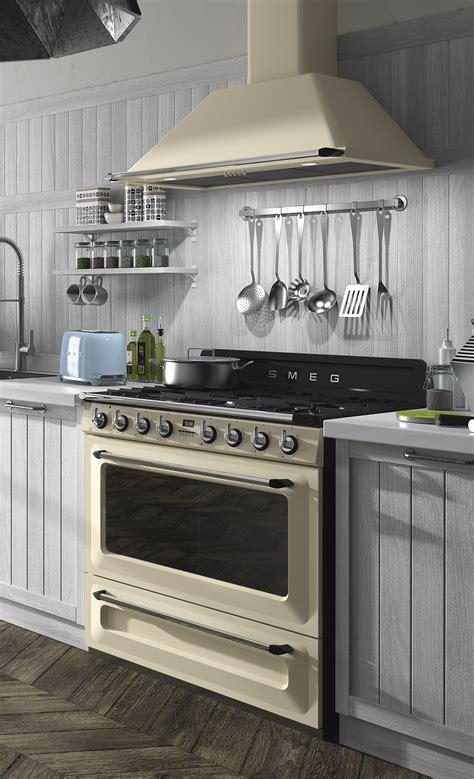 technology  style range cooker kitchen smeg kitchen