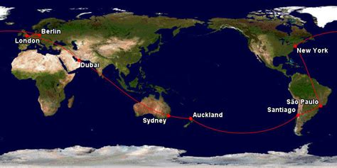 How to fly around the world using Qantas frequent flyer ...