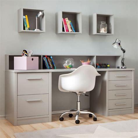 bureau de lit chambre enfant avec lit à tiroirs bureau et rangement