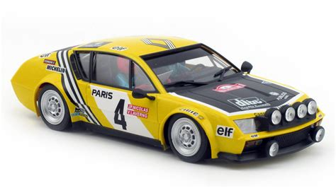 renault alpine a310 rally avant slot renault alpine a310 rally monte carlo 4