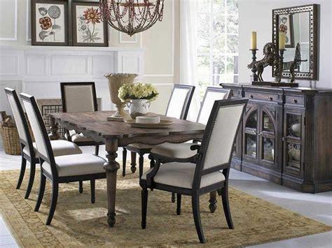 pulaski lucia brown dining room set puset