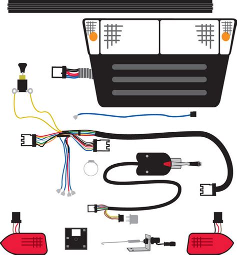 Club Car Brake Light Wiring by Accessories Murray Custom Carts