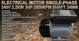 Tools  U0026 Machinery   Electrical Motor Single