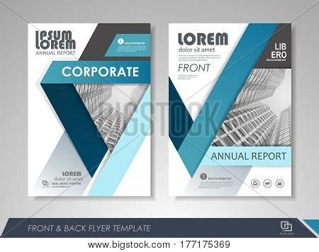 Modern Blue Brochure Design Vector Photo Bigstock Modern Blue Brochure Design Vector Photo Bigstock