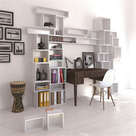 Modular Bookcase Uk by Cubit Configurable Modular Shelving System Homeli