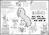 Coloring Menu Menus Restaurants Children Kid Rodeo Placemats Covers Optional Restaurant Activity Microsoft Border Word sketch template