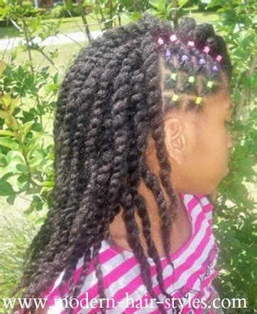Black Little Girls Hair Styles, Twists, Braids, and Zero