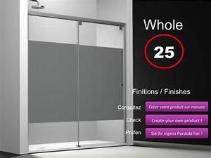 paroi de douche longueur 190 porte de douche coulissante With porte douche hauteur 180