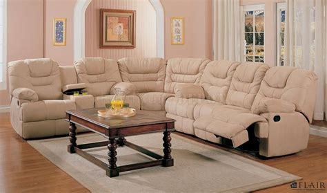 L Shaped Sectional Sofa With Recliner Reclining Sectionals