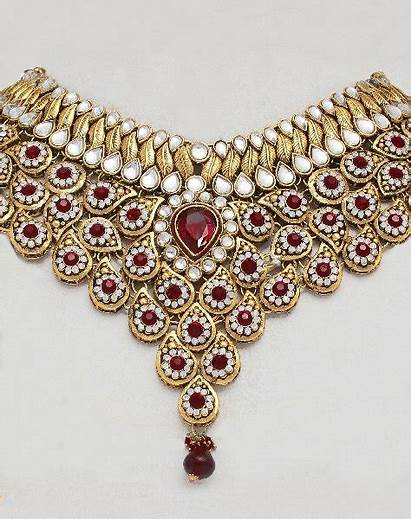 Jewellery Indian Bridal Akbar Jodha Jewelry Gold
