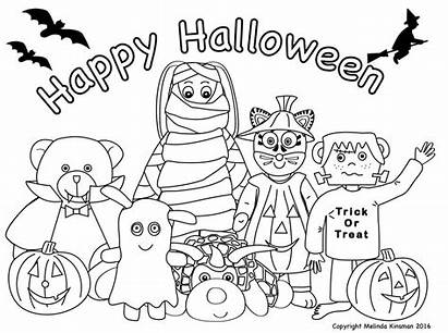 Spooky Colouring Pages Coloring