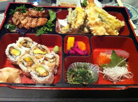 bento japanese cuisine bento box delivers on a lot of variety picture of hana japanese restaurant rohnert park