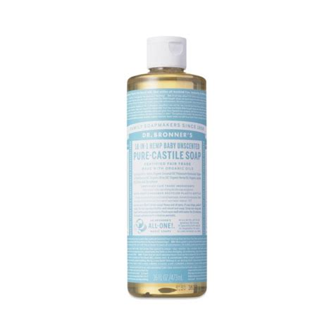 unscented baby castile liquid soap  dr bronners