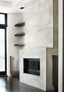 york, mill, residence, , 20ft, contemporary, concrete, tile, fireplace, surround, the, large, concrete, tiles