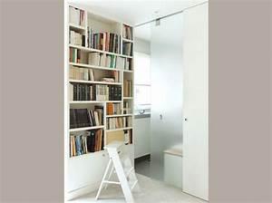 Fabriquer Sa Porte Coulissante Sur Mesure : envie d une biblioth que sur mesure elle d coration ~ Premium-room.com Idées de Décoration