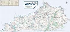 Top printable map of kentucky | Hudson Website