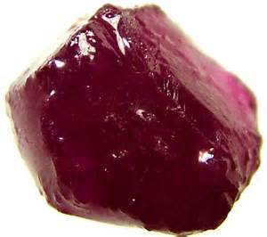 Rough Raw Ruby Gemstones