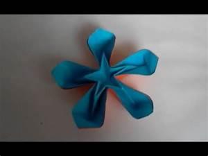 Origami Fleur Coeur D étoile : origami fleur coeur d 39 etoile youtube ~ Melissatoandfro.com Idées de Décoration