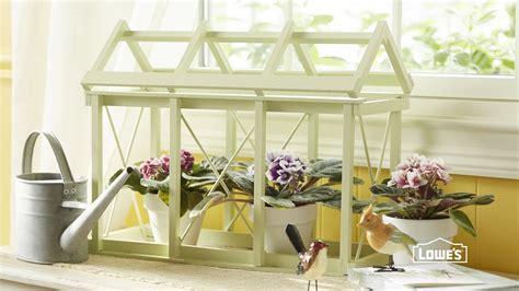 diy tabletop greenhouse youtube