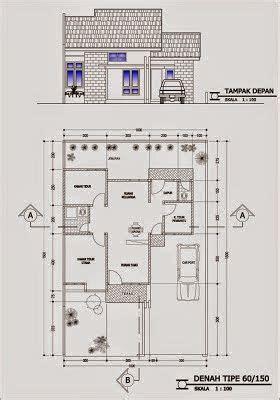 denah rumah minimalis type  denah rumah desain rumah