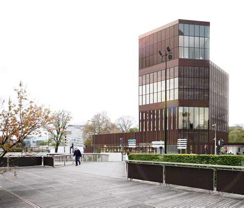 bureau change lille lille office building euravenir tower e architect
