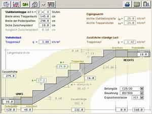 Beton Berechnen : 4h trepo treppe mit podest ~ Themetempest.com Abrechnung