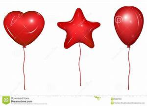 Set Of Vector Baloons Stock Vector Image Of Background