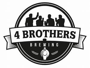 4 brothers brewing With brewery logo maker