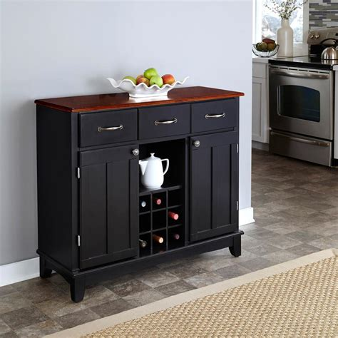 Black Kitchen Sideboard by Sideboards Buffets Kitchen Dining Room Furniture