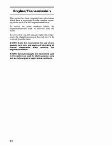 2006 Arctic Cat 500 4x4 Automatic Le Atv Service Repair Manual