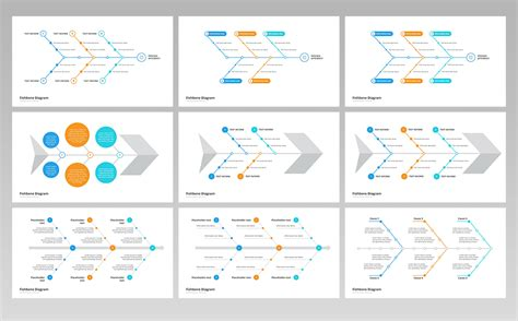 fishbone ishikawa diagram powerpoint template