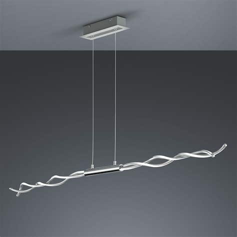 LED Pendelleuchte mit LED Dimmer, 4 fach schaltbar