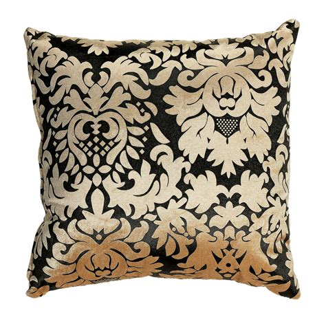 Square Pillows by Cortesi Home Dama Decorative Damask Square Accent Pillow