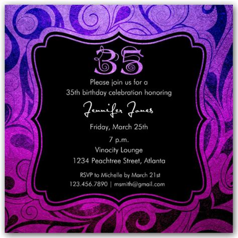 brilliant emblem  birthday party invitations paperstyle