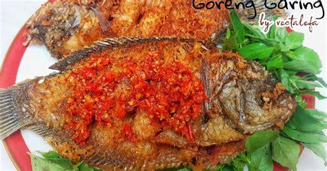 Resep pisang goreng tanduk garing yang lagi viral pisang tanduk : Resep Ikan Goreng Garing Dan Renyah