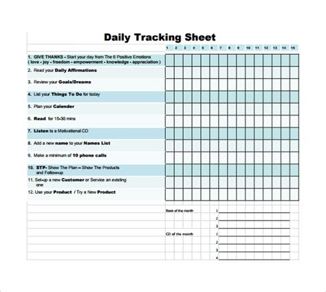 elegant sales call tracking spreadsheet
