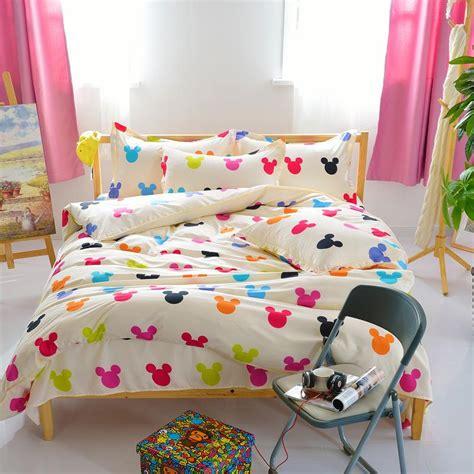 popular queen size mickey mouse bedding buy cheap queen