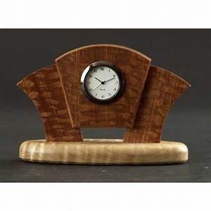 Art Deco Desk Clock Woodworking Plan from WOOD Magazine