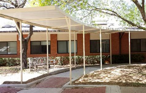 Canvas Car Ports by Carport Walkway Covers In Dallas Tx Usa Canvas Shoppe