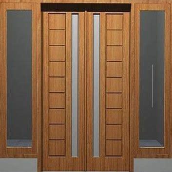 model pintu  dobel minimalis terbaru