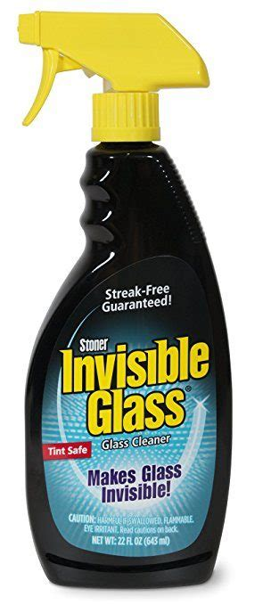 Car Window Glass Cleaner  Safe  Tinted Windows