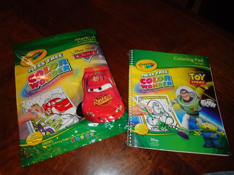 Color Wonder Disney Coloring Book & Markers Product Review
