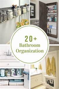 Bathroom Organization Tips The Idea Room
