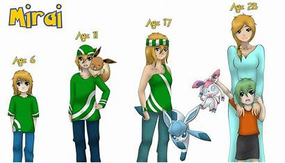 Pokemon Timeline Oc Deviantart Mirai Base Render