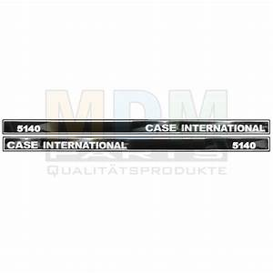 Aufkleber Kit Case International 5140 Old Type