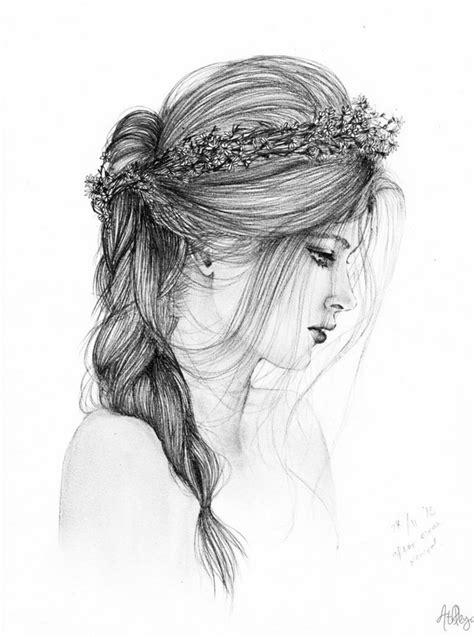 disegni ragazze con trecce 1001 idee per disegno ragazza belli a cui ispirarsi